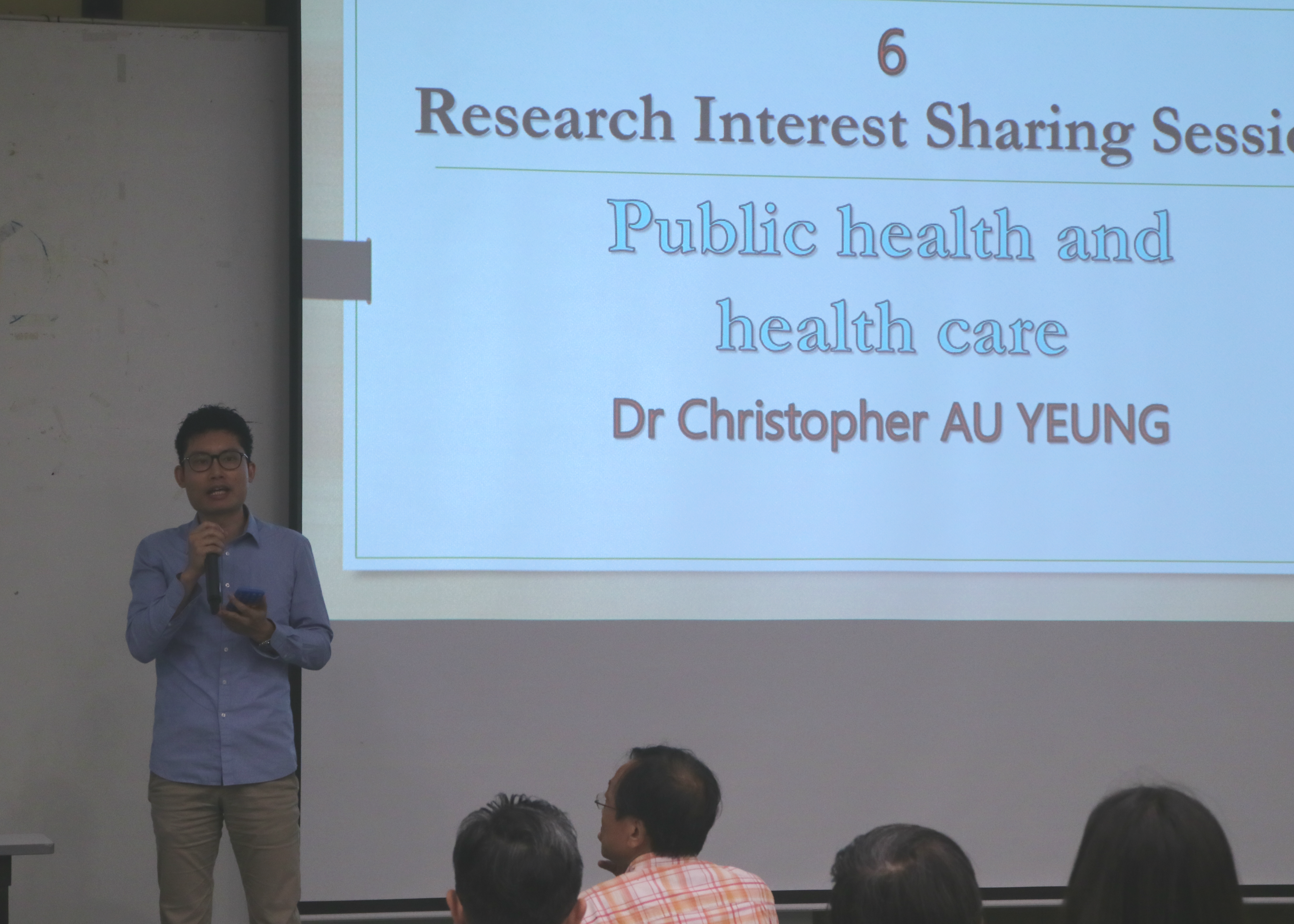 Dr. Christopher Au Yeung's sharing 歐陽晧江博士之分享