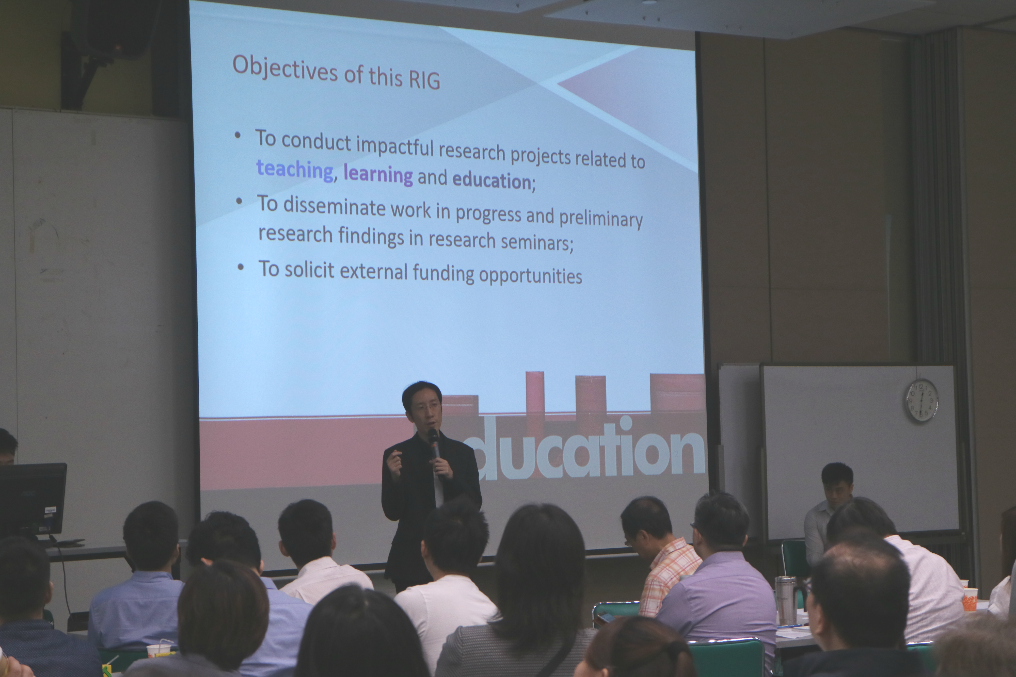 Dr. Felix Tang's sharing 鄧子龍博士之分享