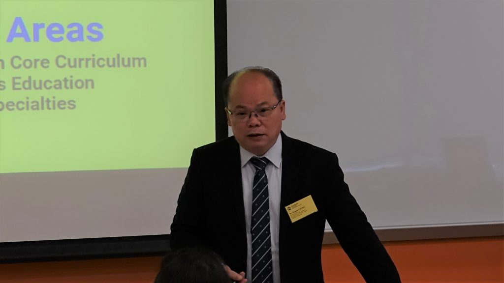 Dr Thomas Leung, Programme Director of the BBA Programme, explained the programme curriculum to the participants.