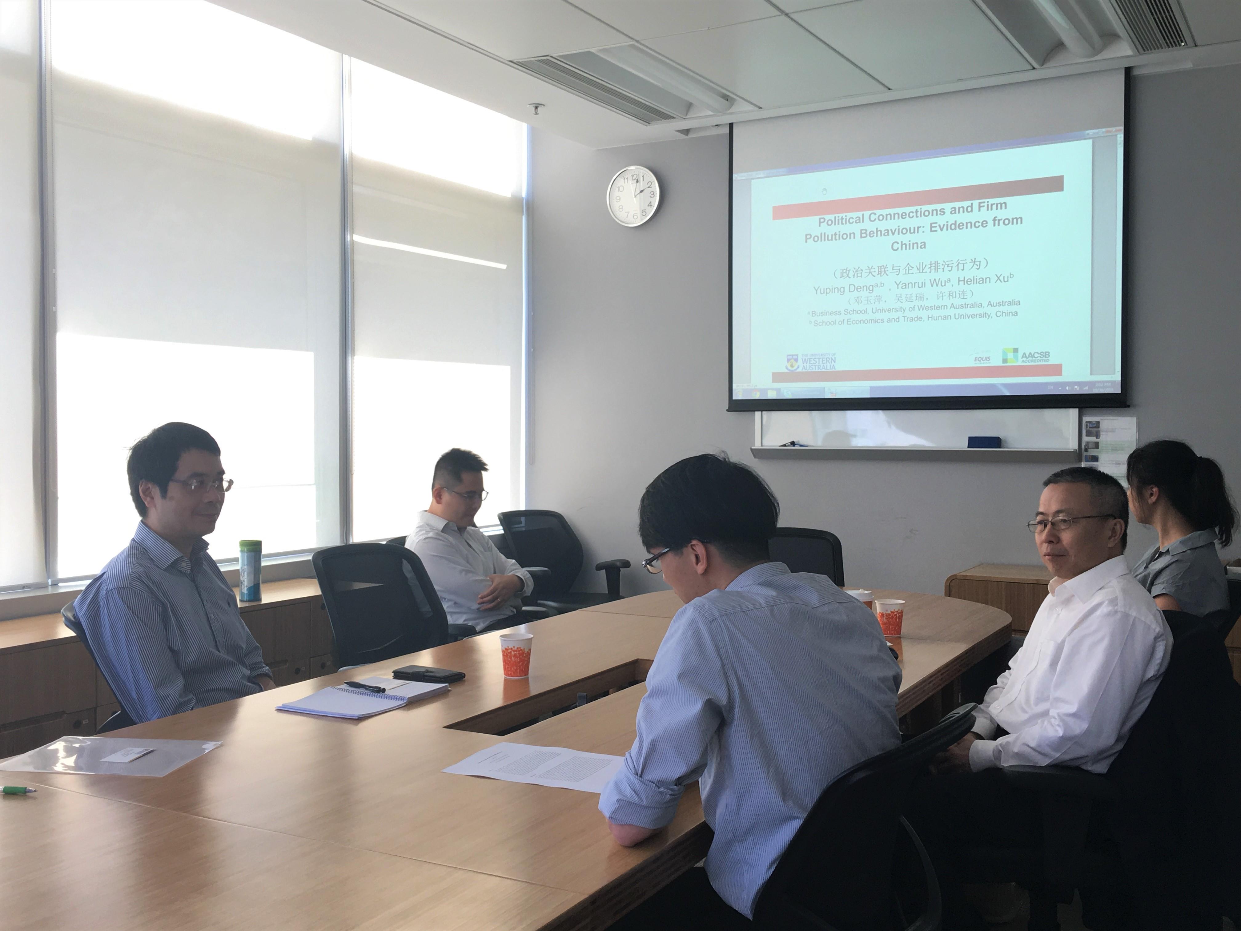Prof. Wu seminar 1