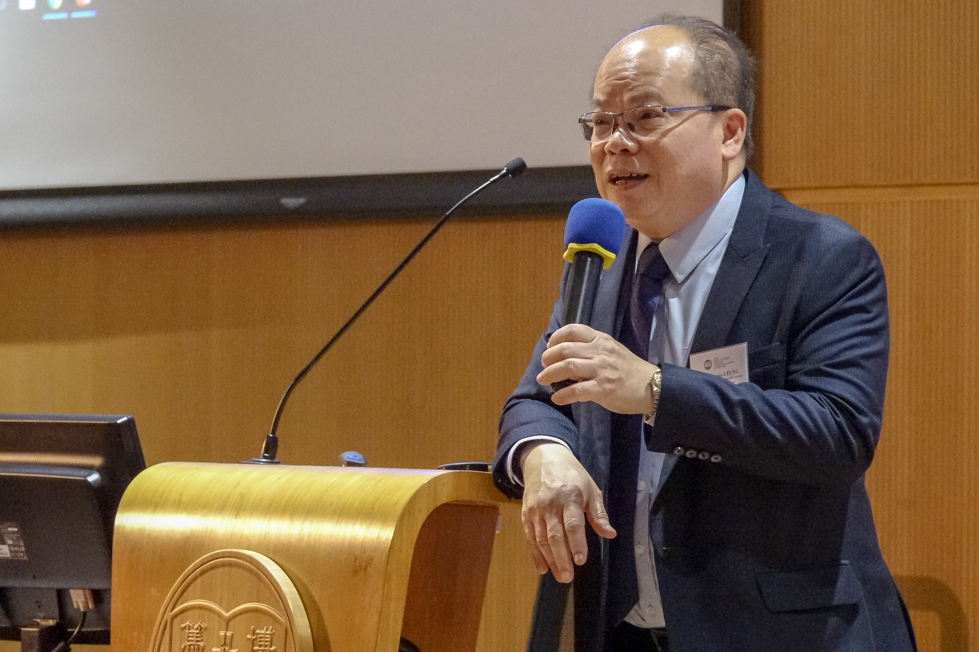 Dr Thomas Leung, Director of the BBA Programme, extended a warm welcome to BBA Year 1 and 2 students